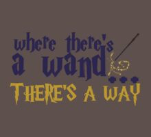 Where there's a wand, there's a way! Kids Clothes
