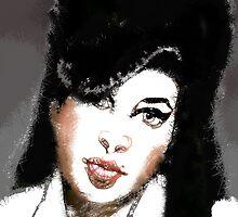 Amy Winehouse by Susana Weber