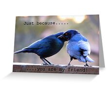 Just because... Greeting Card