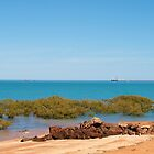 Broome, Roebuck Bay Western Australia by Virginia  McGowan