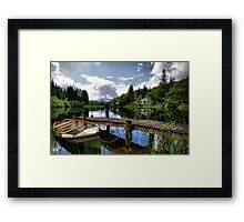 Loch Ard ~ The Trossachs, Scotland Framed Print