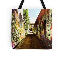 Graffiti Alley Tote Bag