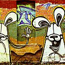 Graffiti Bunnies by Jason Dymock