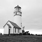 Cape Blanco Lighthouse by Jennifer Hulbert-Hortman