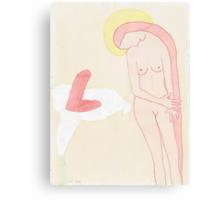 Mi pasado y otras mentiras (The Annunciation) Canvas Print