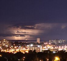 Lightning Over Ottawa by Heather King