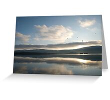 Dunmanus Bay Sunrise Sunset in Ireland 23 Greeting Card