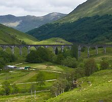 Railway Trestle at Glenfinnan by Yukondick
