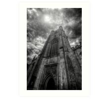 St Mary The Great Church Tower, Cambridge Art Print