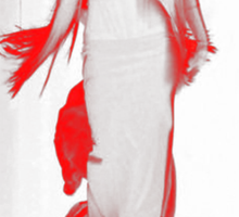 Lady Gaga Mugler Fashion Show  Sticker