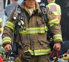 Fireman by Crystal Davis Photography