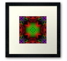 Fractal Garden Framed Print