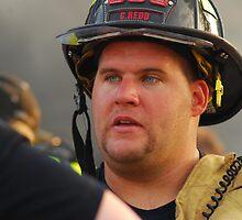 Fireman by Crystal Davis Photography
