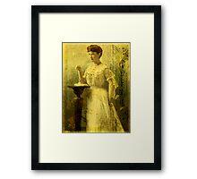 Lucia Framed Print