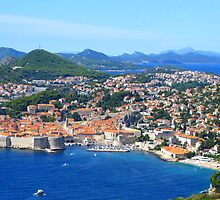 The Old Town - Dubrovnik by Honor Kyne