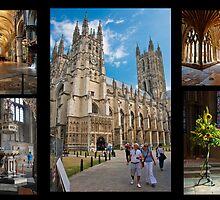 Canterbury Cathedral Collage by DonDavisUK