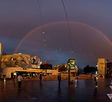 Over the Rainbow - Federation Square by wolfcat
