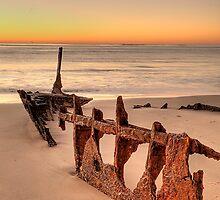 Shipwrecked by Attila Monostori