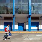 Man running  by Valentina Silva