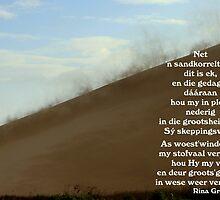 Net 'n Sandkorreltjie by Rina Greeff