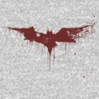 Batman Blood Splatter Logo by wetwired