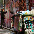 Graffiti Guy by Lana Callaby