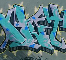 Shadows of Moody Blues in Graffiti by aussiebushstick