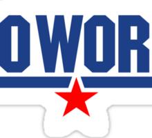 Do Work Wingman Sticker