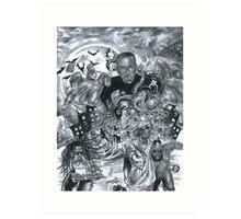 Hopsin - Taking over the Industry Art Print