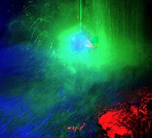 Contact: Laser Meets Water by Simonka
