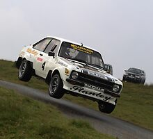Jay Stanley - Escort Mk2 - Harry Flatters Rally, Epynt 2011 by MSport-Images