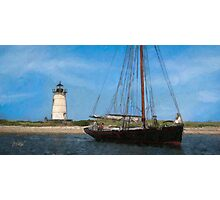 Edgartown Light Photographic Print