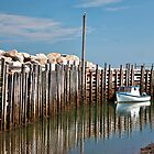 Margaretsville Wharf by PhotosByHealy