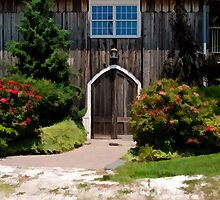 The Vintner's Entrance by Sally Kady