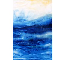 Ocean Blue Photographic Print