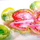 Guavas at the George St Market by © Janis Zroback