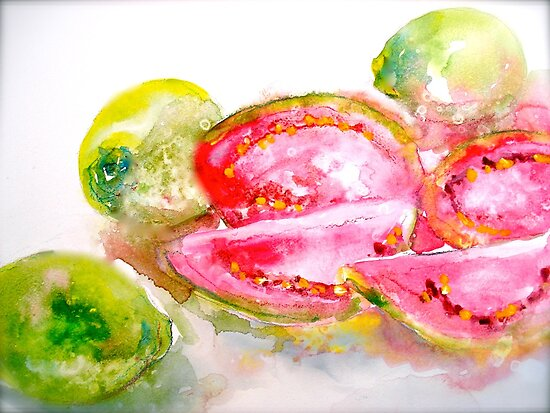 Guavas at the George St Market by ©Janis Zroback