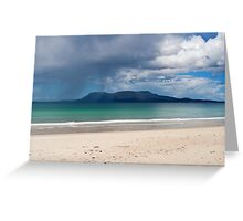 Bruny Island Storm Greeting Card