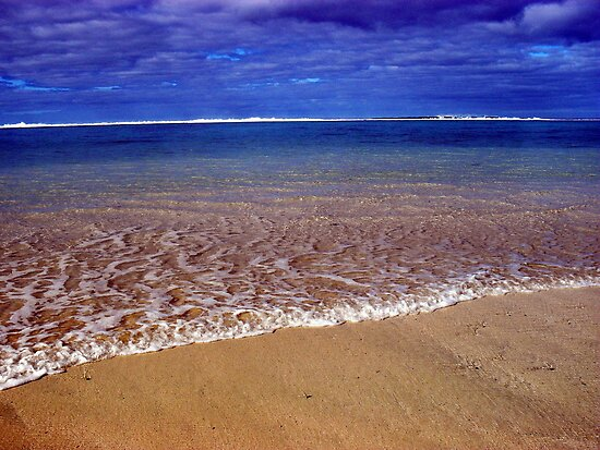 Sea side Rarotonga by MMackenzie1