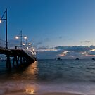Rockingham Beach before Dawn by Michael Bailey