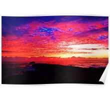 Laie Point sunrise Poster