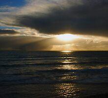 Winter Sunset by Robert Phillips