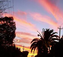 Princess Road Sunset One by Robert Phillips