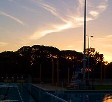 Sunset Aquatic Centre Four by Robert Phillips