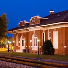 Rural America Restored South Georgia Train Depot by BenSellars