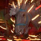 Abstract Carousel Horse from the House on the Rock. by AlbertLake