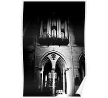 Organ Pipes & Stone Poster