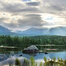 Katahdin from Sandy Stream by Lori Deiter