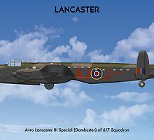 Avro Lancaster B1 617 Sqn 2 by Claveworks