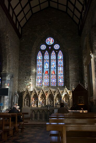 St Mary's Cathedral Killarney Kerry 2 by Georgia Conroy
